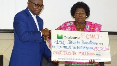 Le FONAJ octroie 130000000 FCFA à 150 jeunes de la ville de Ndjamena