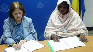 Les USA subventionnent 8 associations tchadienne a hauteur de 24 millions de FCFA