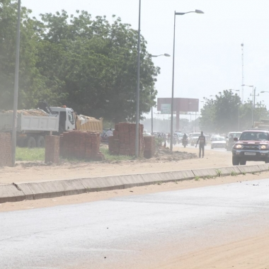 Le terrain de la future basilique de N'Djamena squatté par des commerçants