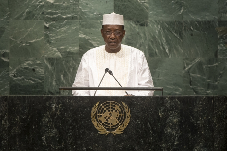 71e Assemblée générale de l'ONU : Discours d'Idriss Deby Itno Président du Tchad