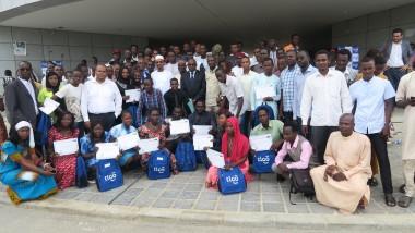 Technologie: 900 jeunes formés par Tigo en Informatique reçoivent leurs attestations