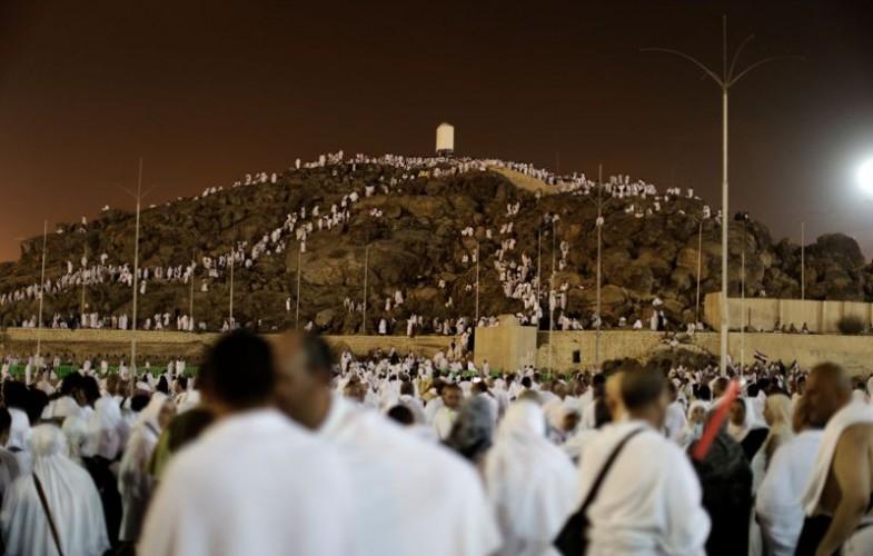Hadj 2016 : les fidèles se regroupent sur le Mont Arafat