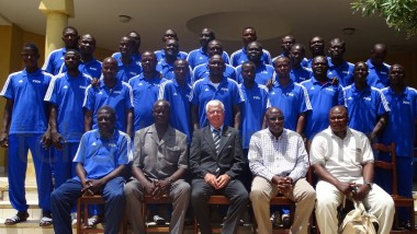 Sport : 30 entraîneurs des gardiens de but en formation à N'Djamena