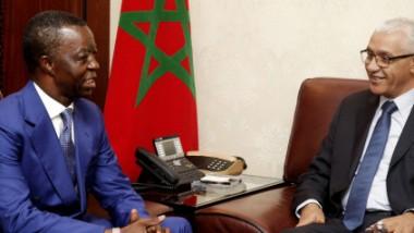 Le Président du Parlement panafricain Roger Nkodo Dang effectue une visite de travail au Maroc