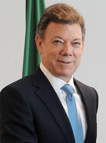 Le Président colombien Juan Manuel Santos Prix Nobel de la paix
