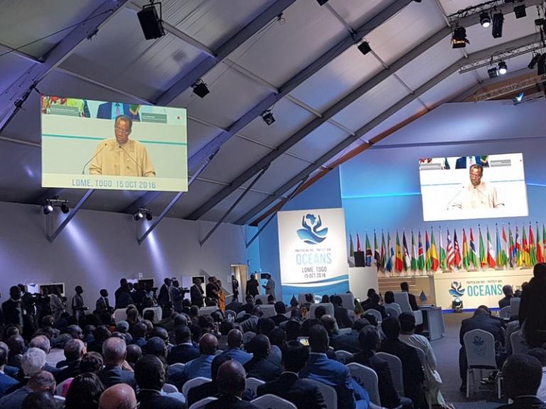 Sommet de l'UA sur la sécurité maritime : Discours d'ouverture d'Idriss Deby Itno
