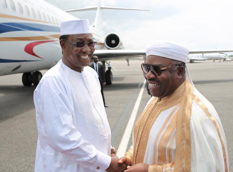 Gabon : le président Deby félicite Ali Bongo pour sa gestion de la crise postélectorale