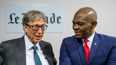 """Club de l'Économie : Tony Elumelu prêche la """"philanthropie structurée"""""""