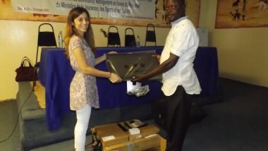 Tchad : l'UNICEF dote les jeunes en matériels d'informatique