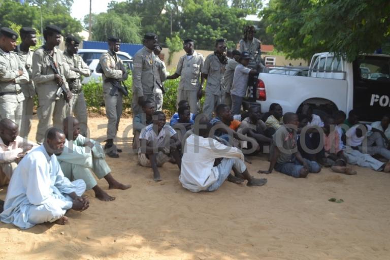 Tchad : la Police nationale interpelle 25 fauteurs de troubles