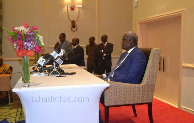 Tchad : Moussa Faki lance officiellement sa campagne pour la Présidence de la commission de l'Union Africaine