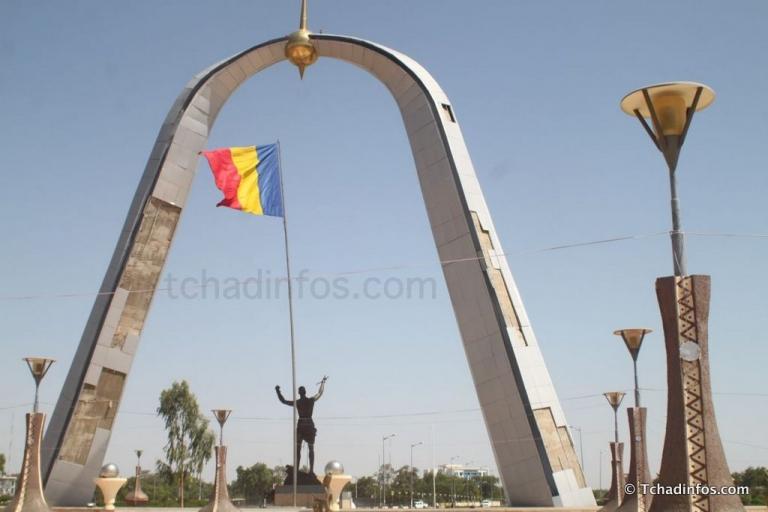 N'Djamena : le monument de la Place de la Nation tombe en ruine