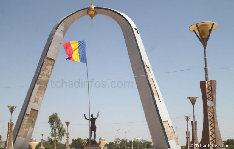 N'Djamena : le monument de la Place de la Nation tombe en ruine