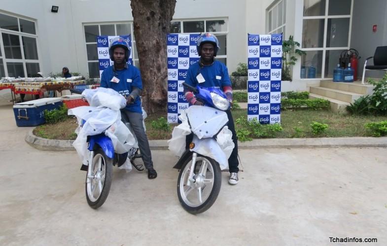 Tigo Tchad récompense les premiers gagnants de la  promotion Année scolaire de rêve
