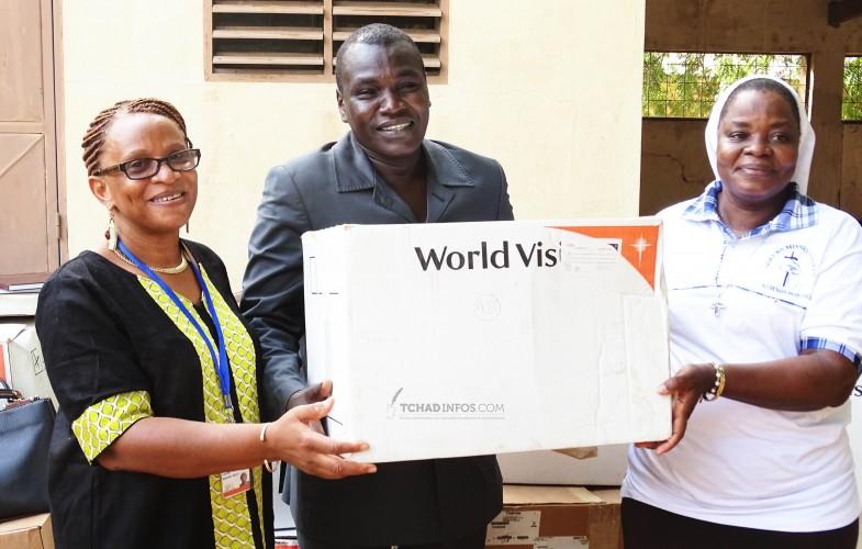 Tchad : World Vision fait don des médicaments et intrants à deux hôpitaux