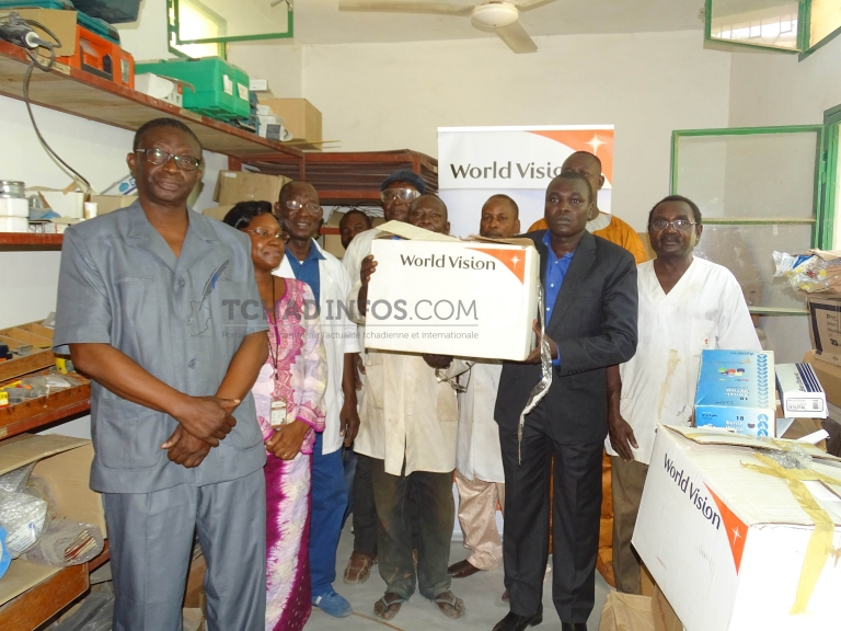World vision vient en aide au centre d'appareillage et de rééducation de Kabalaye