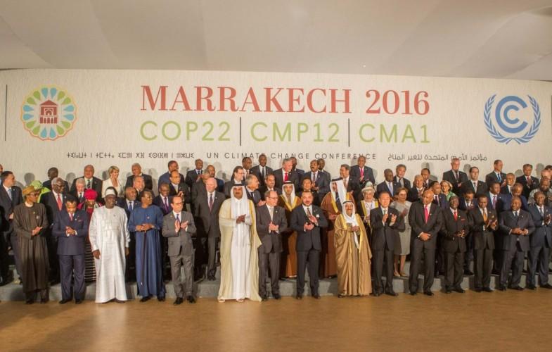 Le Roi du Maroc ouvre les travaux du sommet de haut niveau de la COP22