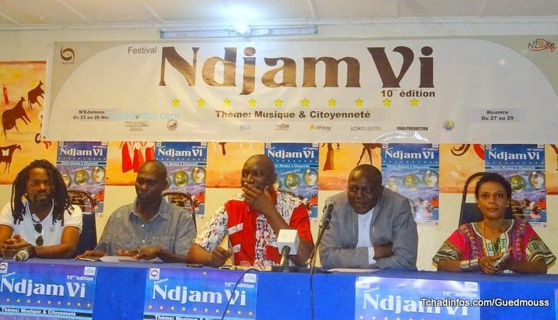 L'édition 2016 du festival N'Djam Vi débute ce mercredi 23 novembre à N'Djaména