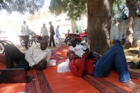 """Grève de la faim par des membres de la""""Coalition Justice ou Rien"""" pour le retrait des 16 mesures"""