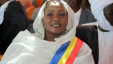 La nouvelle maire de N'Djaména Mariam Djimet Ibet prend fonction
