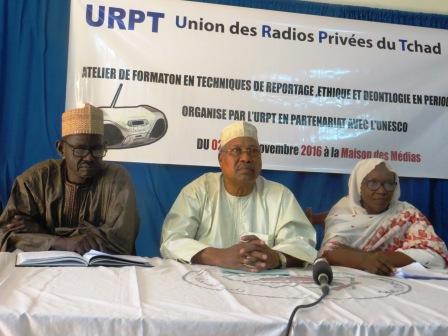 Des journalistes de l'URPT à l'école du savoir