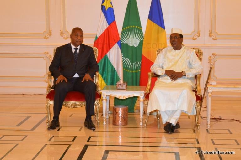 Le président Déby en Angola pour un sommet sur la Centrafrique