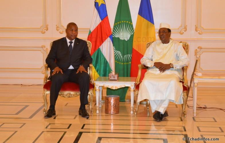 Crise en RCA : Touadéra consulte Déby