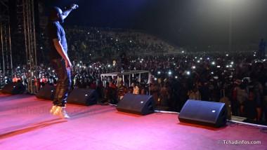 Maître Gims enflamme le stade Idriss Mahamat Ouya de N'Djamena