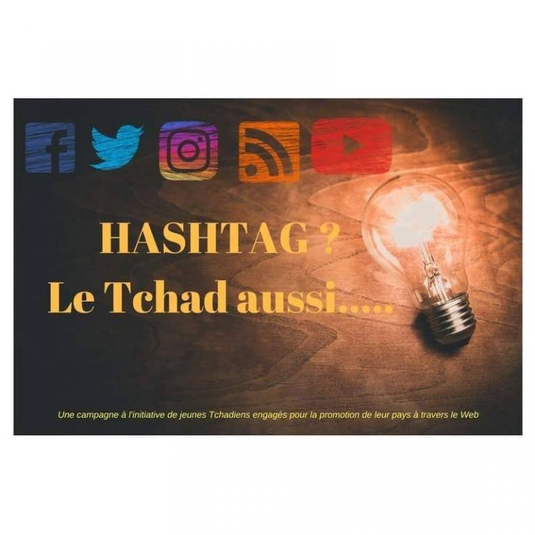 Les internautes tchadiens se cherchent un #Hashtag
