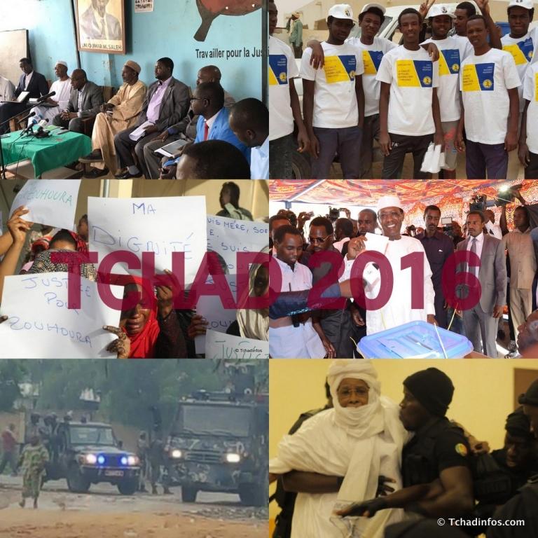 Tchad: Affaire Zouhoura, élection présidentielle et mouvements sociaux marquent l'année 2016
