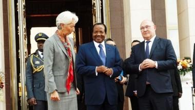 Sommet extraordinaire de la CEMAC : tête-à-tête entre la patronne du FMI et le président camerounais