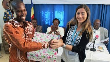 """L'UNICEF prime des journalistes au concours """"portrait des champions des droits de l'Enfant"""""""