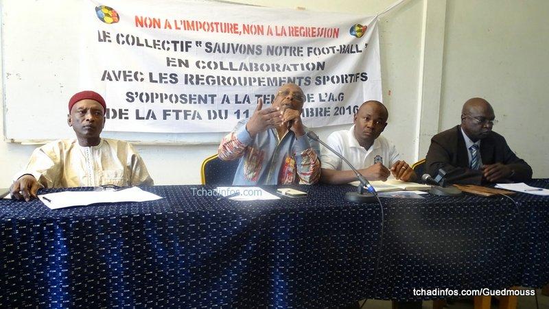Le collectif «sauvons notre football» contre la tenue des élections