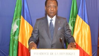 Tchad : le Président Deby a adressé ses félicitations à Emmanuel Macron pour son élection