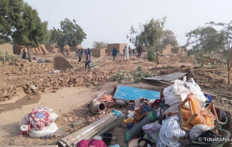 La Mairie de N'Djamena déguerpis des quartiers et villages dans le 9e arrondissement