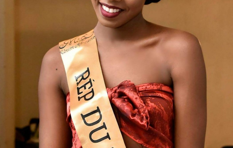La tchadienne Maïmouna Youssouf élue Miss Union Africaine 2017
