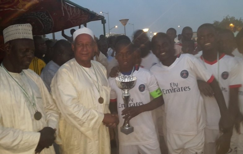 Football : l'école de football Aozou remporte la coupe U17 du 2e arrondissement de N'Djamena