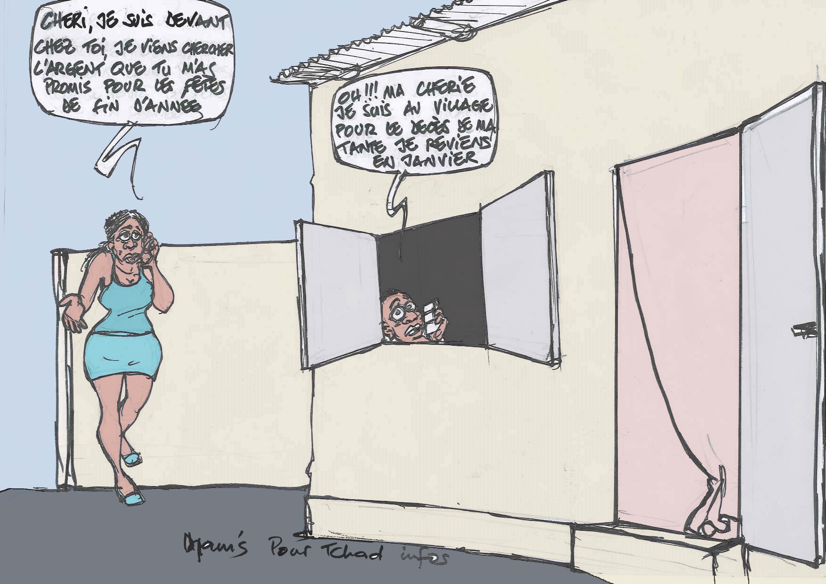 #Crise #Tchad
