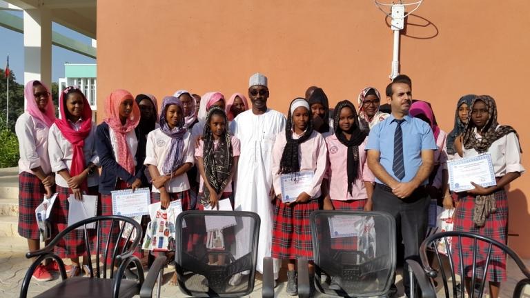 Education : le Complexe Bahar incite filles à la lecture