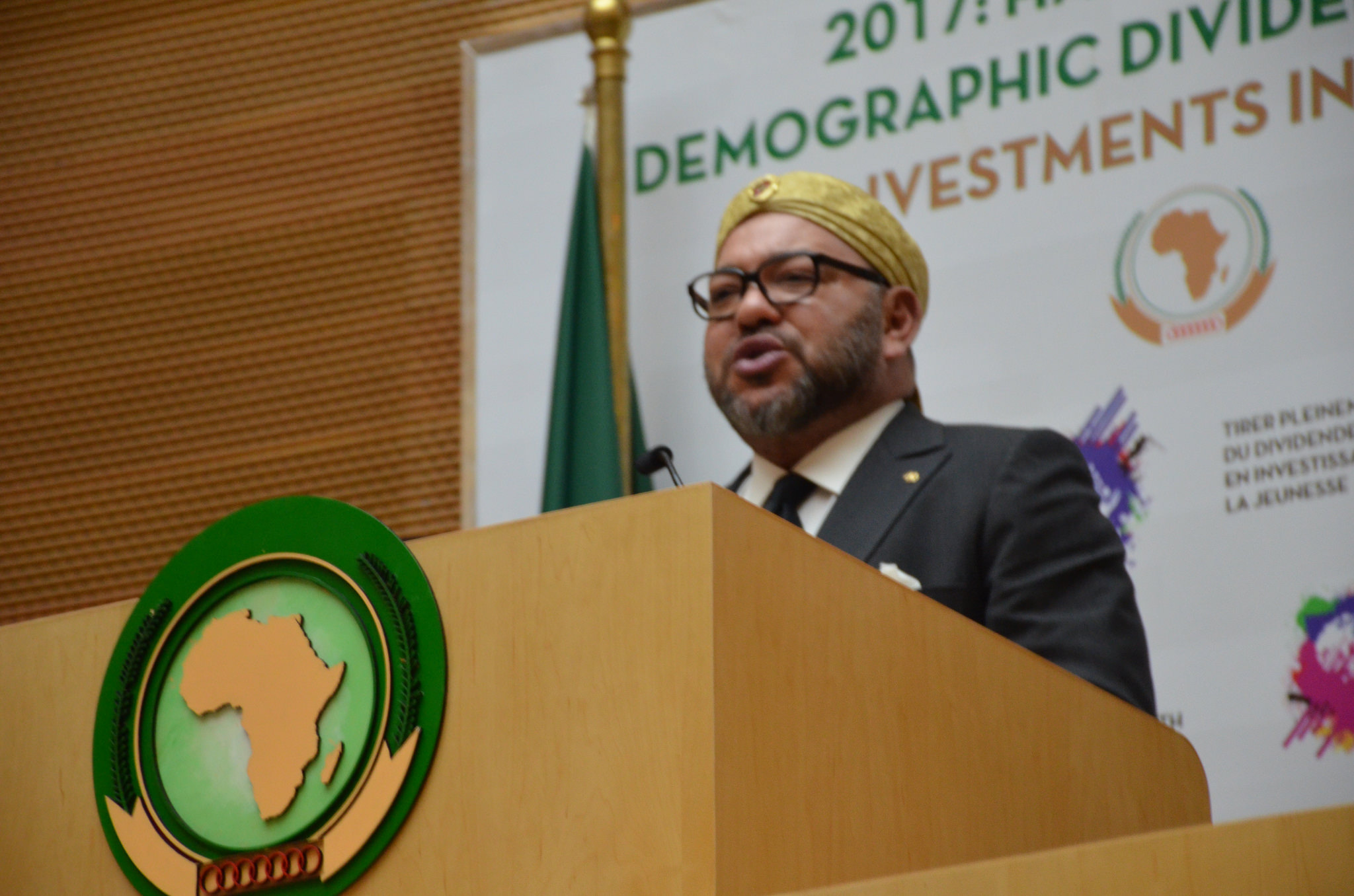 Le roi du Maroc Mohammed VI Photo DR