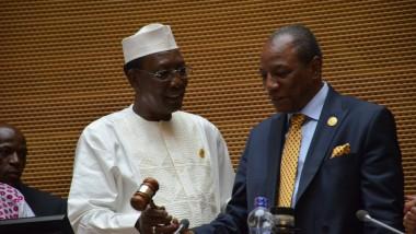 Le président guinéen Alpha Condé élu président en exercice de l'Union africaine