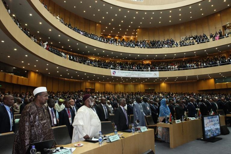 Ouverture du 28e sommet de l'Union africaine à Addis Abeba