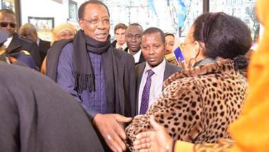 Tchad : le président Deby en visite de travail en Belgique