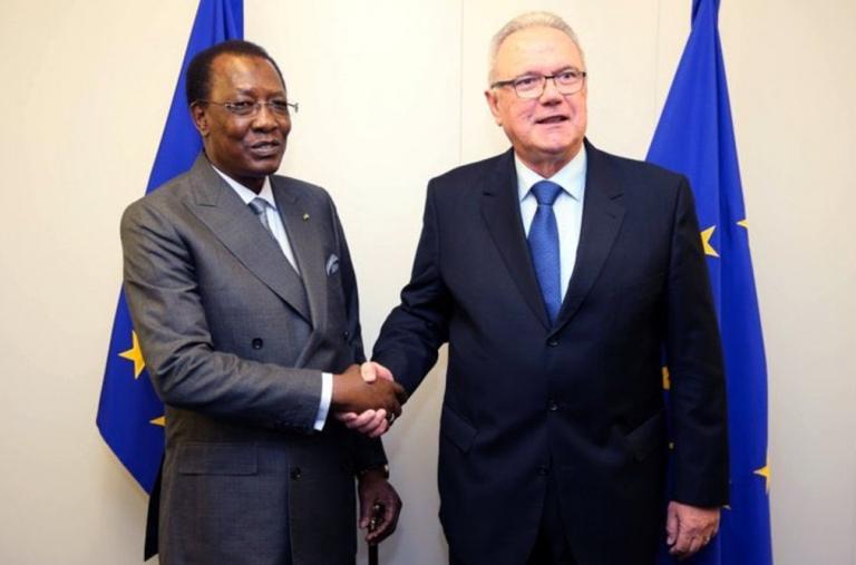 L'Union européenne rassure Idriss Déby du renforcement de son partenariat