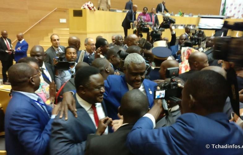 Moussa Faki Mahamat élu Président de la commission de l'Union Africaine