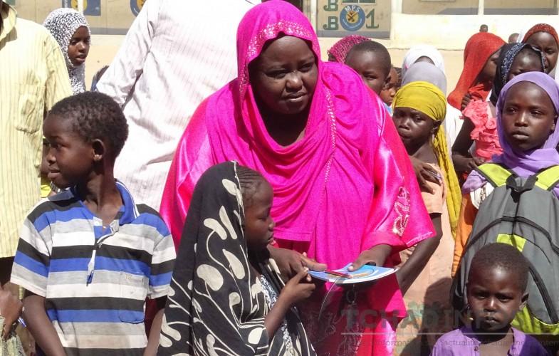 Tchad : Des fournitures scolaires aux élèves des retournées de la Centrafrique