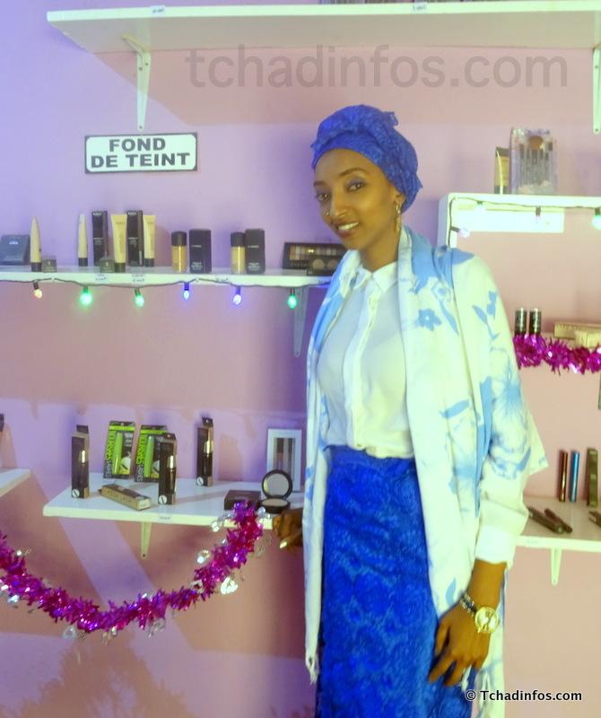 "Human of N'Djamena : ""On a tellement de possibilités au Tchad maintenant, ce n'est plus comme avant"" Salma Mahamat Saleh"