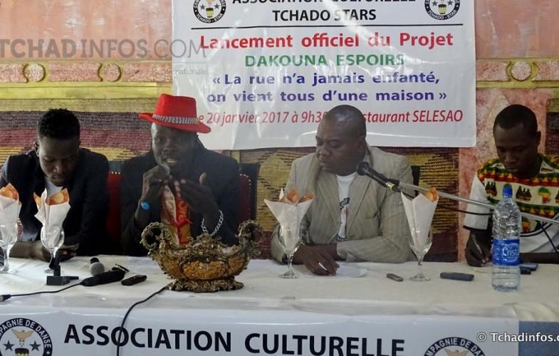 Tchado Star  lance le projet «Dakouna Espoir» en faveur des enfants de la rue