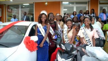 Miss Tchad 2017 : La Miss et ses dauphines reçoivent officiellement leurs prix