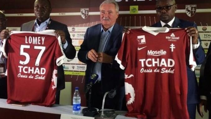 Sponsoring: Le club français FC Metz efface de son maillot «Tchad, oasis du Sahel»